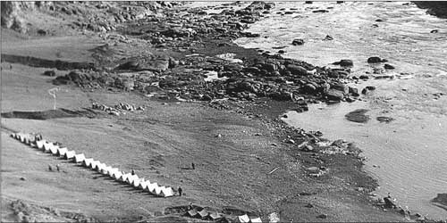 Лагерь одесситов на скалах Ю Буга