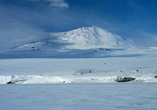 Эребус. Антарктида.