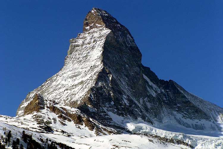 Маттехорн (4.478 метров.).