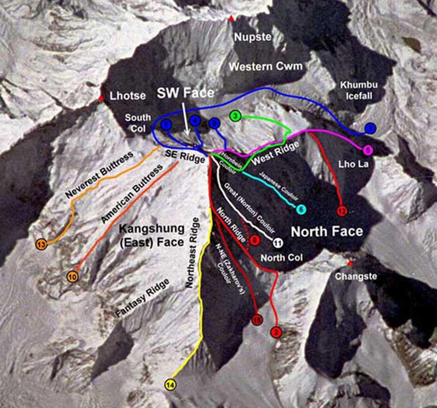Эверест 15 первопроходов