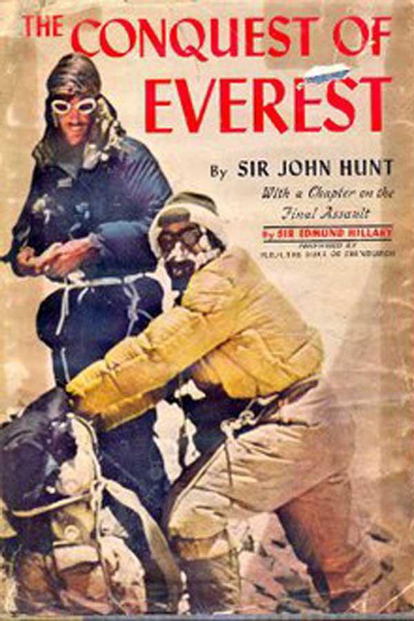 Книга Джона Ханта «Восхождение на Эверест»