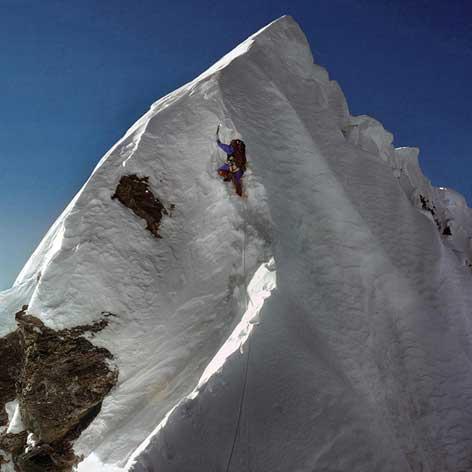 Ступень Хиллари на Эвересте