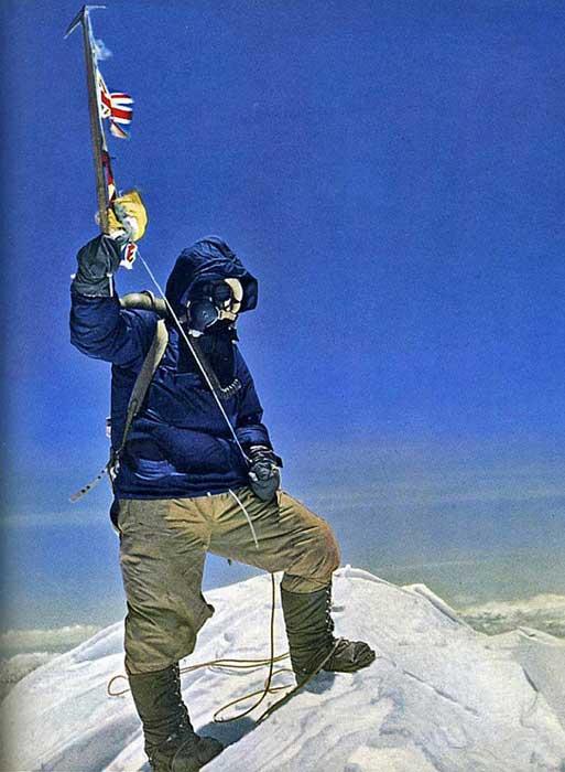 Тенцинг на вершине Эвереста_29 мая 1953