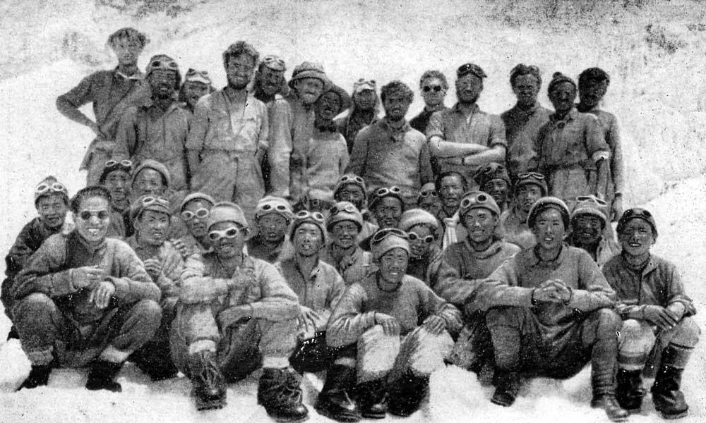 Все в Передовом базовом лагере 31.05.1953