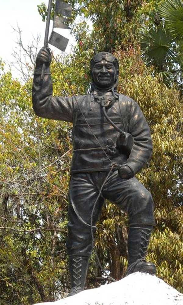 Памятник Тенцингу