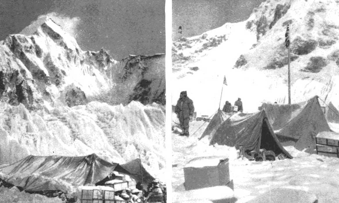 Два вида 2-го Базового лагеря