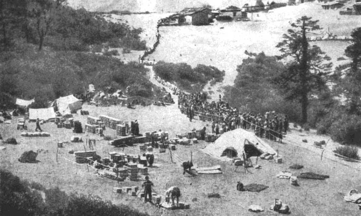 В Тхьянгбоче. Первый Базовый лагерь