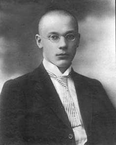 Горбунов. Выпускник гимназии. 1909 г.