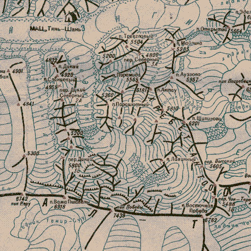 Карта района Победы.